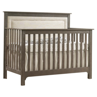 Emerson convertible crib sugarcane with talc panel