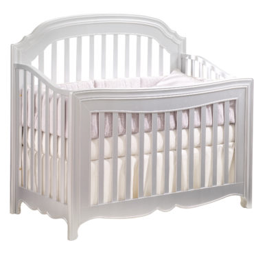 Alexa 4in1 convertible crib silver