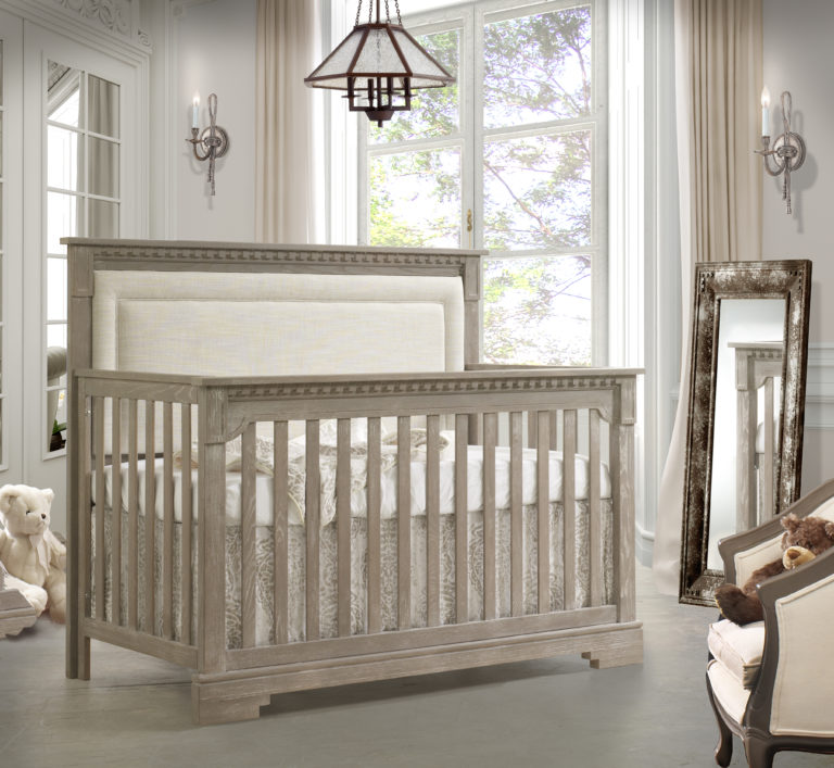 Demo-modell: Ithaca 4in1 convertible crib sugar cane with talc panel